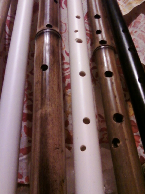 Beautiful Handmade Flutes